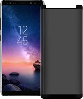 Galaxy Note 9 Privacy Screen Protector [Upgrade Version] [3D Curve] Anti-spy Tempered Glass Screen Film 9H Hardness Anti-S...