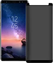 "V-Natural Galaxy Note 8 Privacy Tempered Glass Anti-Spy Screen Protector [3D Curved] [Case Friendly] [9H Hardness] for Samsung Galaxy Note 8 (6.3"") Black"