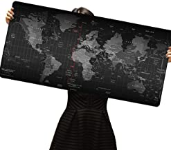 Cmhoo XXL Gaming Mouse Mat Extended & Extra Large Mouse Pad (8040 Map)
