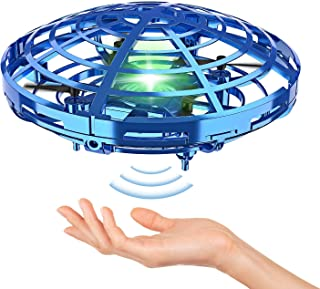 Hand Operated Drones for Kids or Adult - Interactive Infrared Induction Indoor Helicopter Ball with 360° Rotating and Shin...