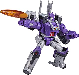 Transformers Toys Generations War for Cybertron: Kingdom Leader WFC-K28 Galvatron Action Figure - Kids Ages 8 and Up, 7.5-...