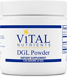 Vital Nutrients - DGL Powder - Licorice Extract to Support Healthy Stomach Lining and Digestive Tract - Gluten Free - Vege...