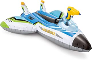Intex Water Gun Plane Ride-On, 46in x 46in, for Ages 3+, 1 Float, Color May Vary