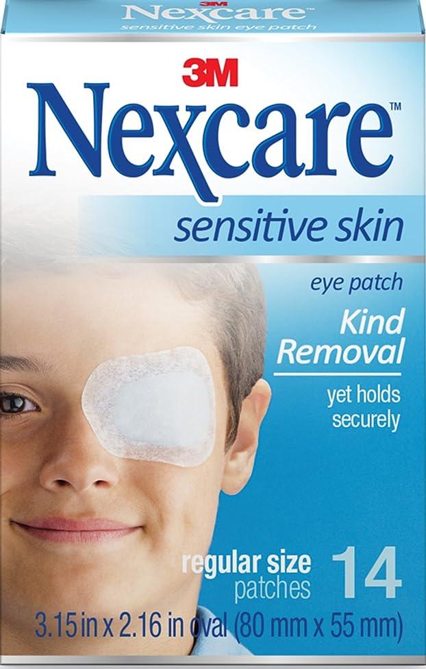 Nexcare Sensitive Skin Regular Orthoptic Eyepatch (Pack of 3)