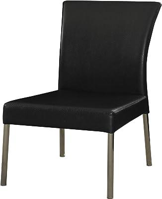 Amazon.com - Zuri Furniture Helena Black and Gray ...