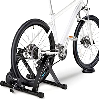 Topeakmart Premium Steel Bike Bicycle Indoor Exercise Trainer Stand/Bike Trainer