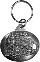 Siskiyou Locomotive Antiqued Keyring
