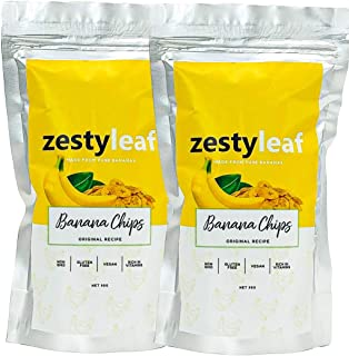 Zestyleaf Banana Chips - Twin Pack
