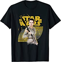 Star Wars The Force Awakens Rey Stands Strong T-Shirt
