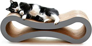 PetFusion Ultimate Cat Scratcher Lounge. [Superior Cardboard & Construction]. Beware 'cheaper copycats' with 'unverified' ...
