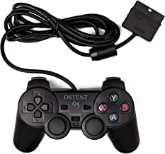 OSTENT Wired Analog Controller Gamepad Joystick Joypad for Sony Playstation PS2 PS1 PS One PSX Console Dual Shock Vibratio...