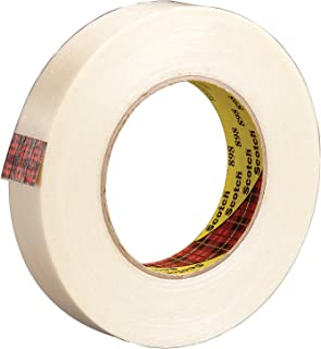Scotch Filament Tape 898 Clear, 24 mm x 55 m, Conveniently Packaged (Pack of 1)