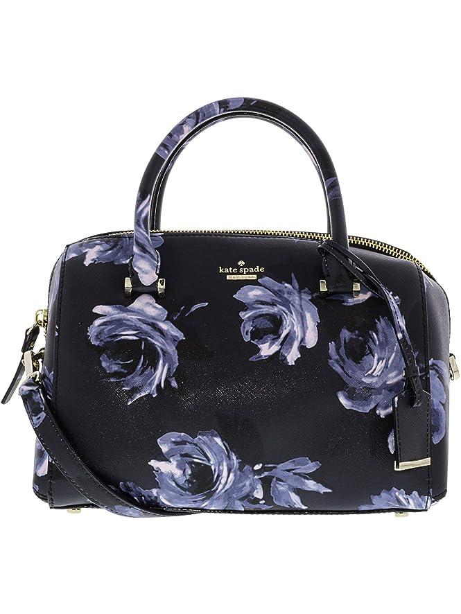 Kate Spade Women's Cameron Street Night Rose Lane Leather Top-Handle Bag Satchel