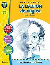 La Lección de August - Kit de Literatura Gr. 5-6 (Spanish Edition)