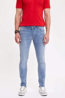 DeFacto Martin Super Skinny Jean Pantolon Mavi W28 x L30