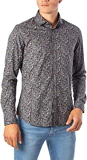 BRIAN BROME Luxury Fashion Mens BU20W02CAGREEN Green Shirt | Fall Winter 19