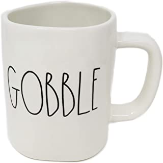 Rae Dunn By Magenta GOBBLE Ceramic LL Coffee Tea Mug