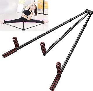 FIGROL Leg Stretcher Steel Material,Leg Split Stretching Machine Stretching Equipment Flexibility for Ballet, Yoga,Dance, MMA, Taekwondo & Gymnastics(Black)