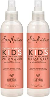 Shea Moisture Coconut & Hibiscus KIDS Extra Moisturizing Detangler, Slippery Elm and Marshmallow Extracts, Anti-Frizz, Moi...