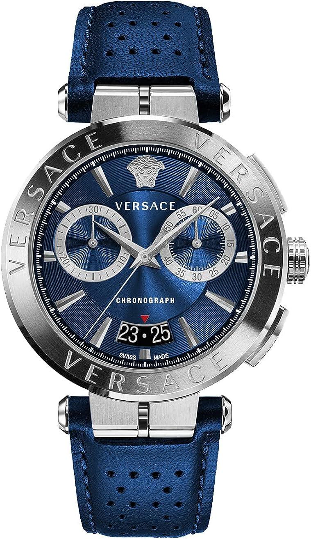 Versace Aion VE1D012 20 - Reloj de pulsera para hombre (cronógrafo, 45 mm)