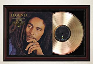 Bob Marley - Legend Framed Cherrywood Display M4
