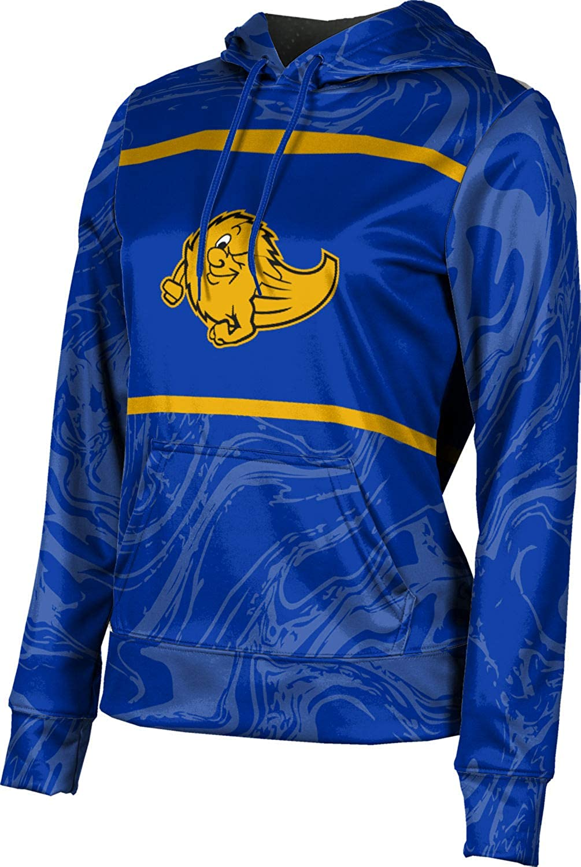 ProSphere Grand Ledge High School Girls' Pullover Hoodie, School Spirit Sweatshirt (Ripple)