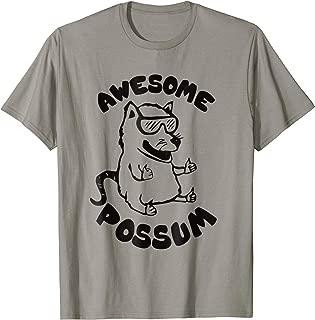 Awesome Possum Graphic T-Shirt - Funny Awesome Possum Shirt