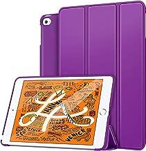 MoKo Case Fit New iPad Mini 5 2019 (5th Generation 7.9 inch), Lightweight Smart Slim Shell Stand Cover Premium PU Leather Folio Case with Auto Wake/Sleep - Purple