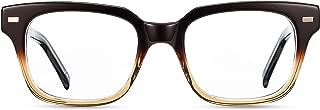 Boca Blu Blue Light Blocking Computer Glasses - UV Light Filter Gaming Glasses for Men/Women (Poseidon Brown)