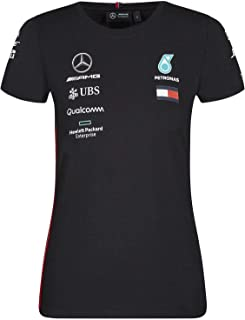 Mercedes-AMG Petronas Motorsport 2019 F1 Women's Team T-Shirt Black