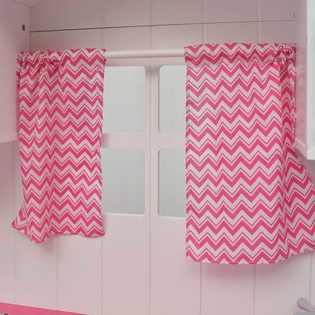 vidaXL Cocinita de Juguete de Madera Dimensiones 82 x 30 x 100 cm Rosa y Blanca