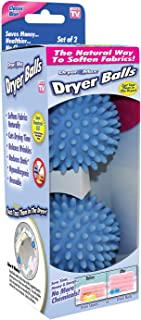 Ontel DryerMax Laundry Dryer Balls | Reusable, Natural, Hypoallergenic Fabric Softener | Saves Dryer Time and Energy | 2 C...