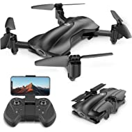 Holy Stone GPS Drone FPV Drones with Camera for Adults 1080P HD, Foldable Drone for Beginners, RC...