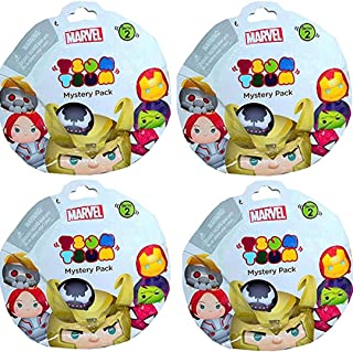 Disney Tsum Tsum Mystery Pack Marvel Series 2 set of 3