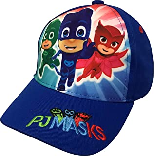 Disney PJ Masks Boys' Blue Baseball Cap - Size Toddler Age 2-5 [6014]