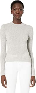 Vince Women's Cashmere Mixed Rib Pullover