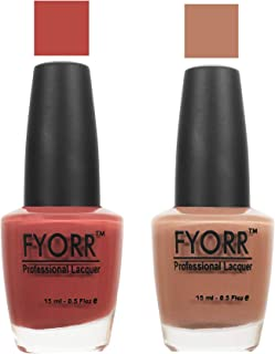 FYORR The Tree Wood Collection Nail Polish - Set of 2 (15 Ml Each)