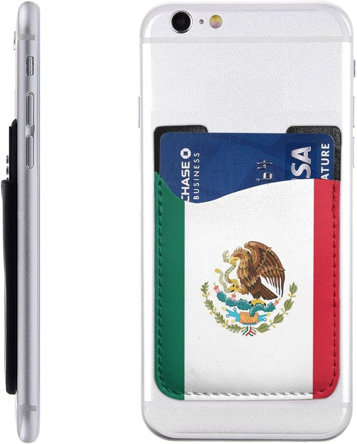 Flag of Mexico New life cheap Phone Card Wallet Cell Stick On Holder