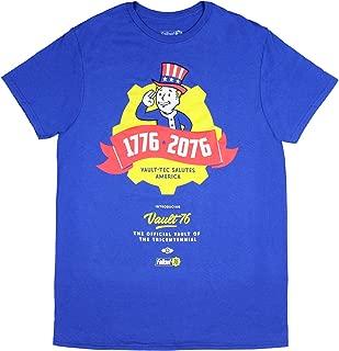 Fallout 76 Tricentennial 1776-2076 Vault 76 Vault-Tec Salutes America Officially Licensed T-Shirt Tee