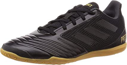 Adidas Predator 19.4 In Sala, Botas de fútbol Unisex Adulto, Noir Noir Noir, 45 1/3 EU