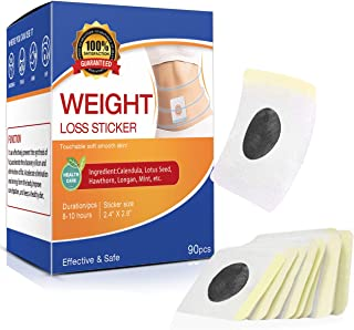 90 Pcs Weight Loss Sticker, Quick Slimming Tightening Sticker for Beer Belly, Buckets Waist, Waist Abdominal Fat