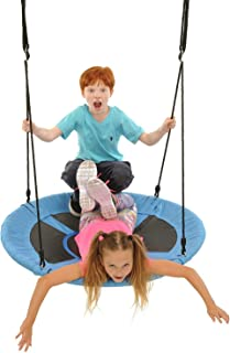 "Yaekoo Giant Rope Swing - 40"" Saucer Tree Swing"