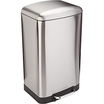 iTouchless SoftStep 13.2-gallon Trash Can