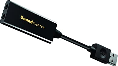 Creative Sound Blaster Play!3 – USB-DAC-Verstärker und externe Soundkarte, schwarz