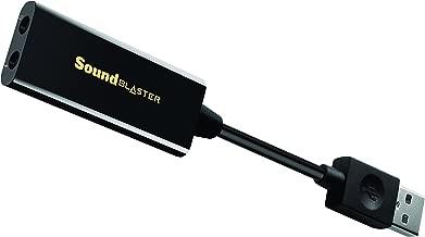 Creative Labs Sound Blaster Play! 3 - Amplificador DAC USB y Tarjeta de Sonido Externa, Negro