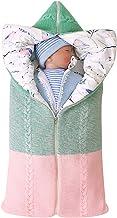 Baby Sleeping Bag Envelopes Warm Cotton Autumn Winter Infants Hooded Sleepsack-1 Medium GROOMY Baby Sleeping Bag