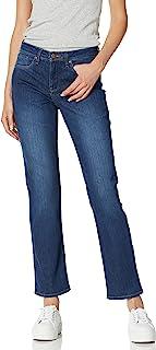NYDJ Womens Sheri Slim Jeans Jeans - Blue