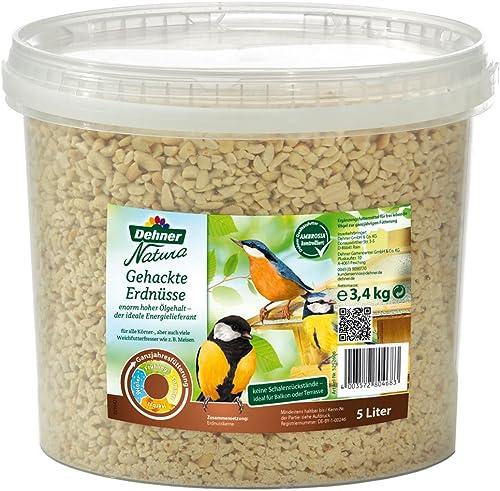 Dehner Natura Cacahuètes hachées dans Un Seau 3,4 kg