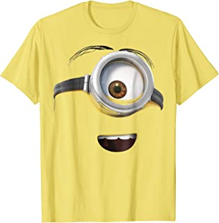 Minions Stuart Only His Face Graphic T-Shirt