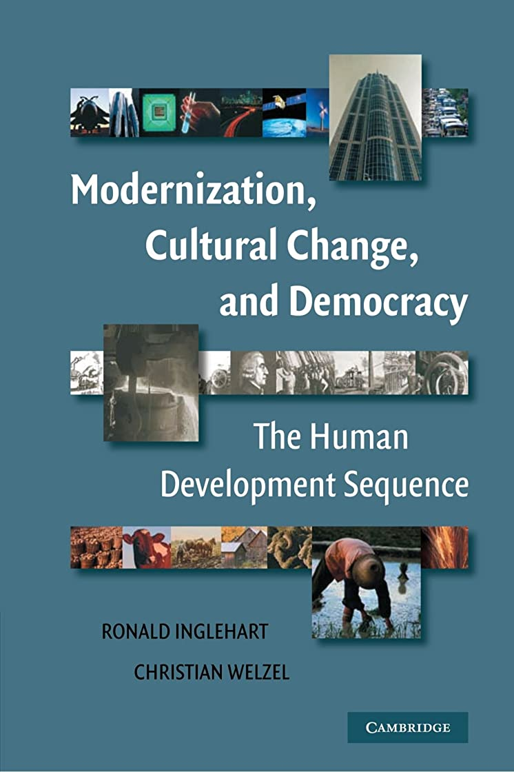 干渉する粘着性三角形Modernization, Cultural Change, and Democracy: The Human Development Sequence